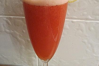 Erdbeer-Zitronen Aperitif 1