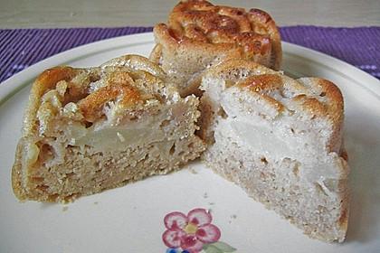 Birnen-Dinkel Muffins