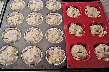 Birnen-Dinkel Muffins 3