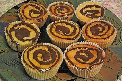 Quark-Zimt Muffins 9