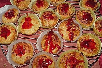 Quark-Zimt Muffins 12