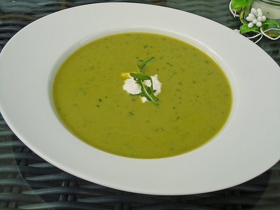 brokkoli rucola suppe rezept mit bild von fruchtfliege kaethy. Black Bedroom Furniture Sets. Home Design Ideas