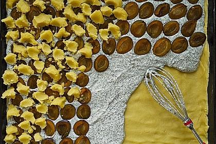 Zwetschgenkuchen mit Mohnquark + Butterstreuseln 19