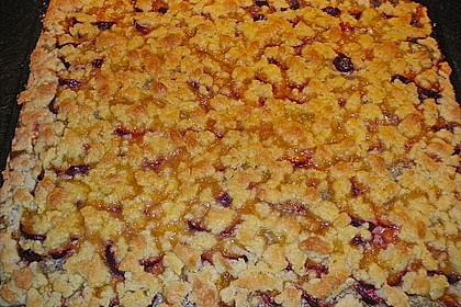 Zwetschgenkuchen mit Mohnquark + Butterstreuseln 25
