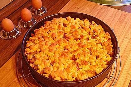 Zwetschgenkuchen mit Mohnquark + Butterstreuseln 34