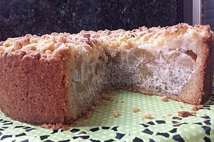 Zwetschgenkuchen mit Mohnquark + Butterstreuseln 12