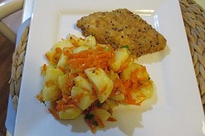 Kartoffelsalat mit Möhren 2