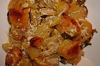 Kartoffel-Lauch Auflauf 2