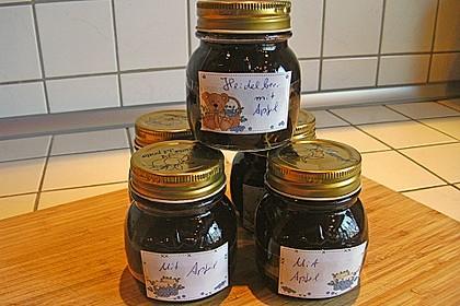 Heidelbeer-Apfel Marmelade 3