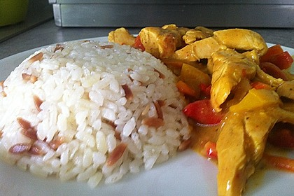 Cremiges Curry-Hühnchen mit Gemüse 7