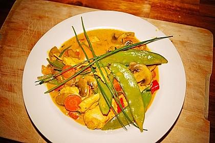 Cremiges Curry-Hühnchen mit Gemüse 1