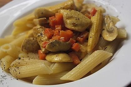 Cremiges Curry-Hühnchen mit Gemüse 3