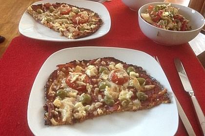 Low Carb Pizzaboden aus Blumenkohl 76