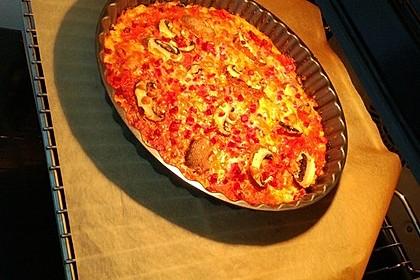 Low Carb Pizzaboden aus Blumenkohl 78