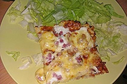 Low Carb Pizzaboden aus Blumenkohl 86
