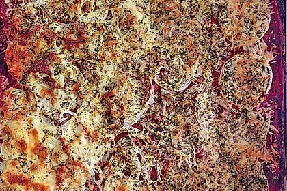 Low Carb Pizzaboden aus Blumenkohl 46