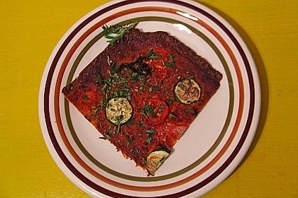 Low Carb Pizzaboden aus Blumenkohl 131
