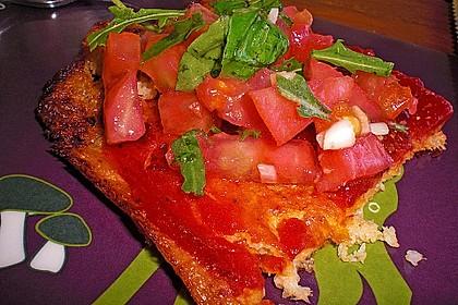 Low Carb Pizzaboden aus Blumenkohl 53