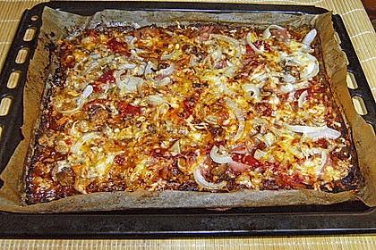 Low Carb Pizzaboden aus Blumenkohl 102