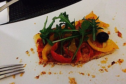 Low Carb Pizzaboden aus Blumenkohl 100