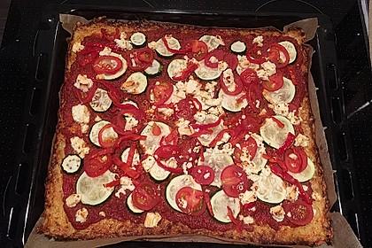 Low Carb Pizzaboden aus Blumenkohl 123