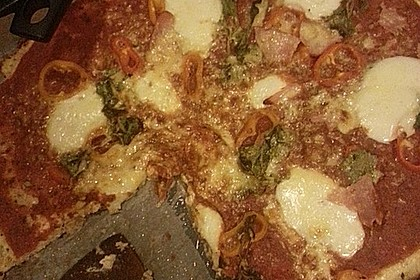 Low Carb Pizzaboden aus Blumenkohl 110