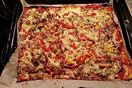 Low Carb Pizzaboden aus Blumenkohl 59