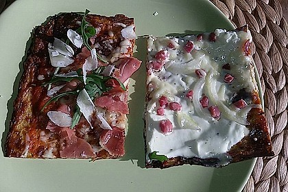 Low Carb Pizzaboden aus Blumenkohl 127