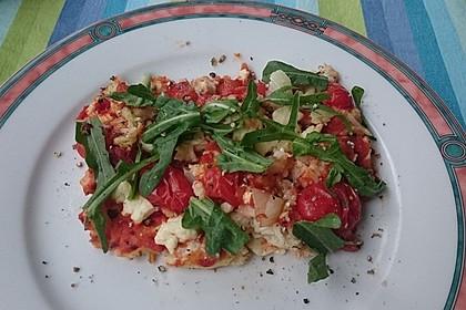Low Carb Pizzaboden aus Blumenkohl 49