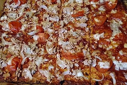 Low Carb Pizzaboden aus Blumenkohl 66
