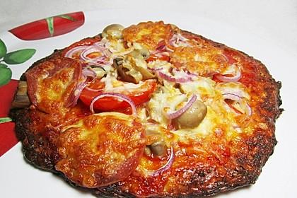 Low Carb Pizzaboden aus Blumenkohl 109