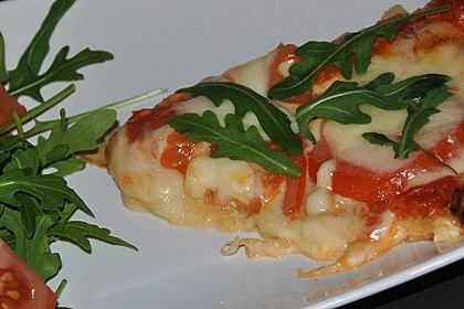 Low Carb Pizzaboden aus Blumenkohl 77