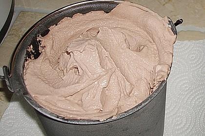 Schoko-Birnen Eis -Schokoeis mal anders 1