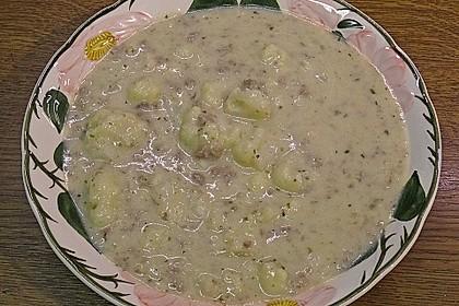 Blumenkohl-Käse Suppe nach Odinette 19