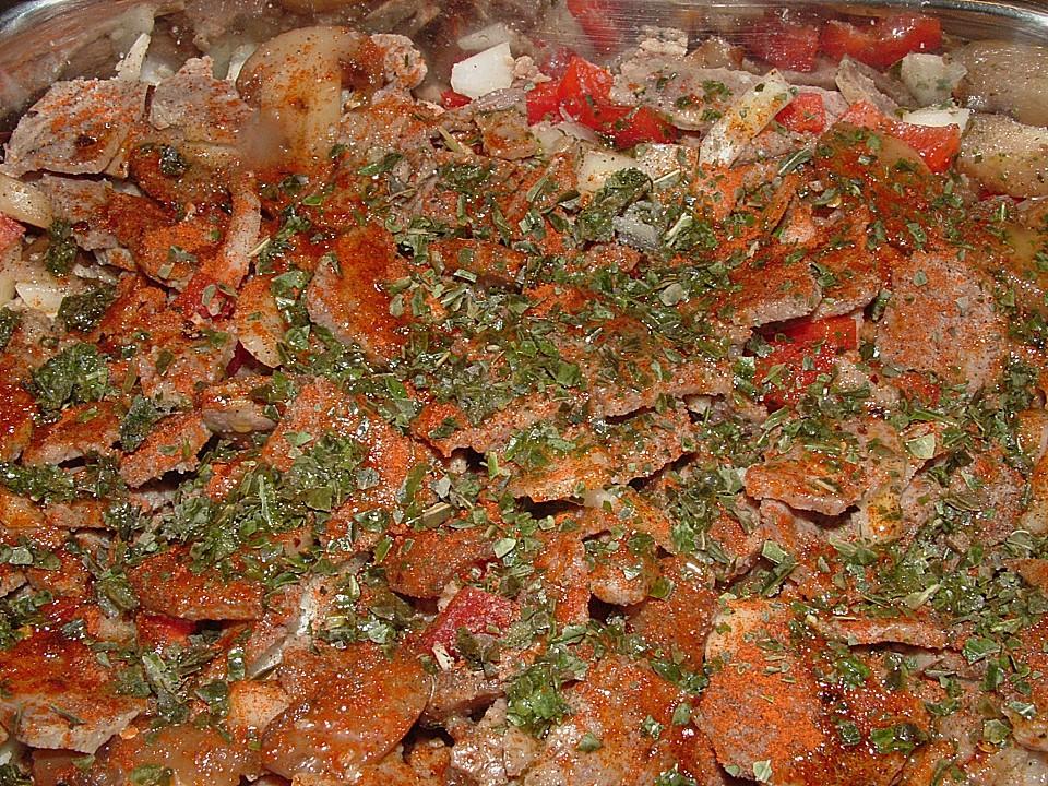 Kebab aus dem Backofen (Rezept mit Bild) von sschlumpfine ...