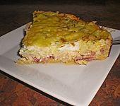 Pikanter Zwiebel-Schinken-Speckkuchen (Bild)