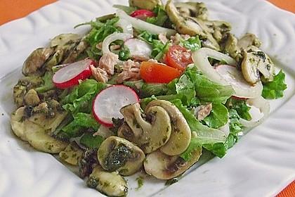 Blattsalat nach italienischer  Art 4