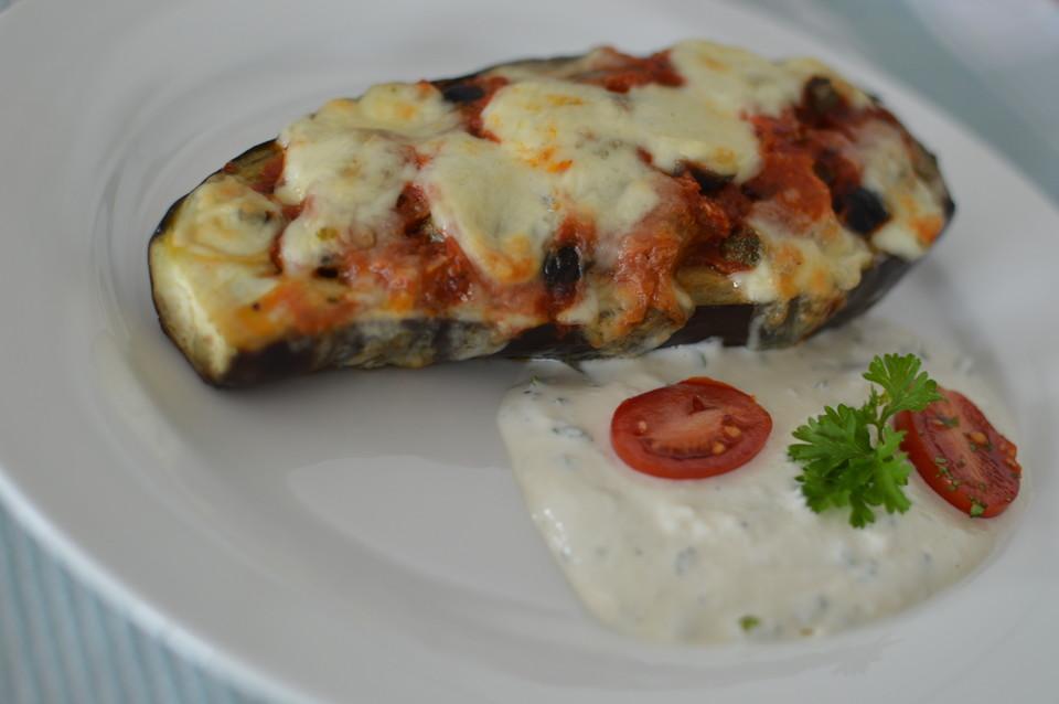 aubergine backofen
