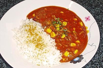 Chili con Carne mit Reis 1