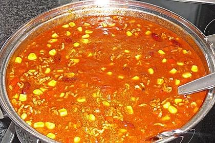 Chili con Carne mit Reis 2
