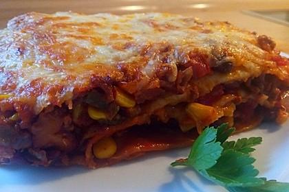 Mells mexikanische Enchilada-Lasagne 30