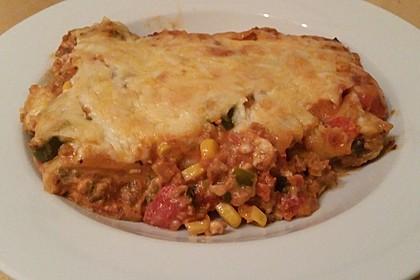 Mells mexikanische Enchilada-Lasagne 49