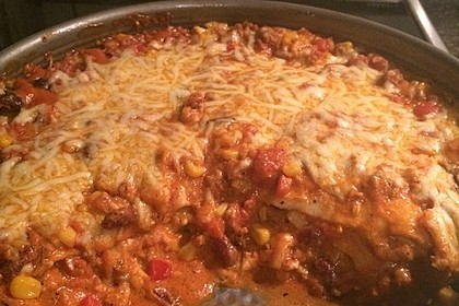 Mells mexikanische Enchilada-Lasagne 71