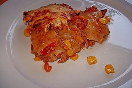 Mells mexikanische Enchilada-Lasagne 47