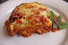 Mells mexikanische Enchilada-Lasagne