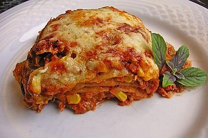 Mells mexikanische Enchilada-Lasagne 2