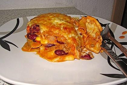 Mells mexikanische Enchilada-Lasagne 27
