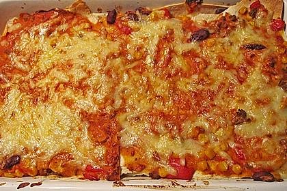 Mells mexikanische Enchilada-Lasagne 38