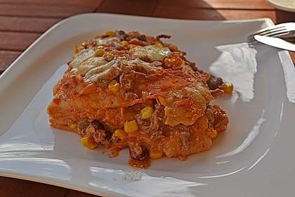Mells mexikanische Enchilada-Lasagne 35