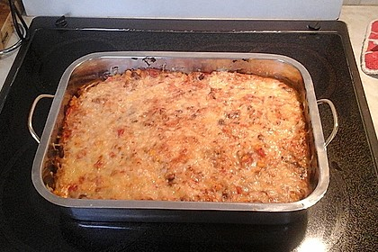 Mells mexikanische Enchilada-Lasagne 82